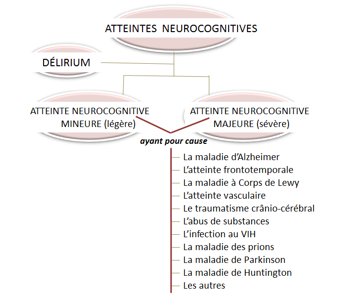 atteintes neurocognitives